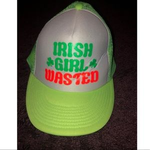 St Patty's day Irish girl wasted snap back